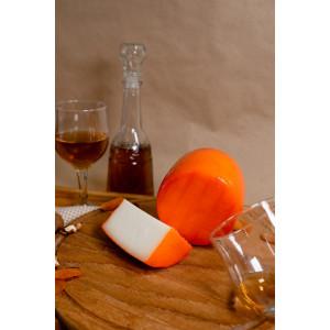Zinka козиний сир напівтвердий середньої зрілості /головка 600g/