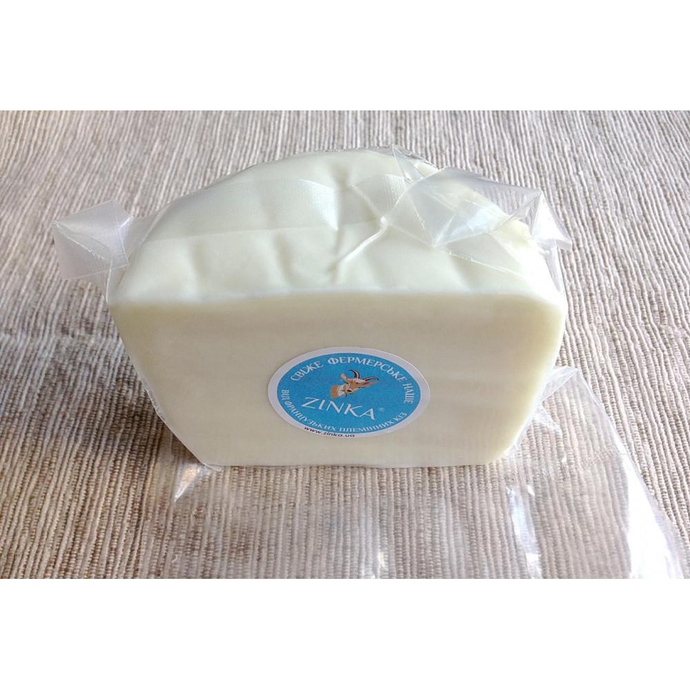 Zinka козиний сир напівтвердий незрілий /половинка 350g/