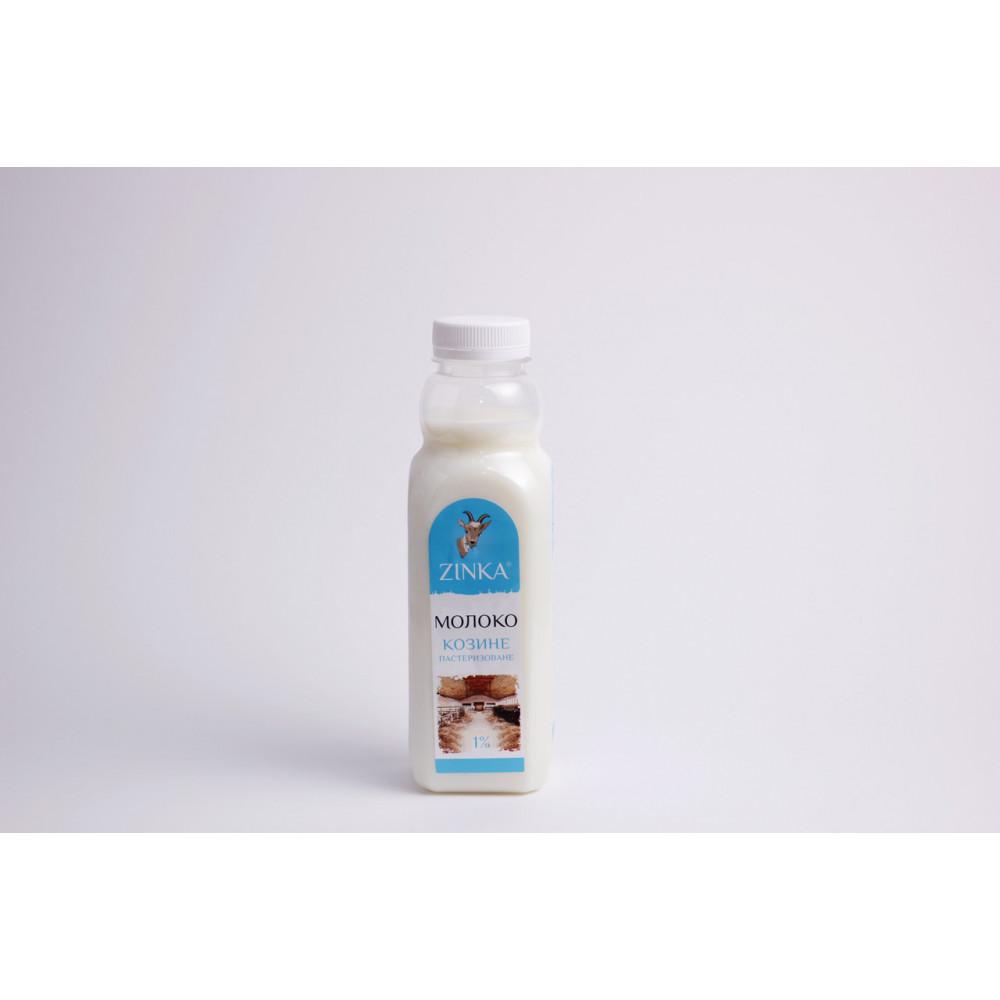 Zinka Молоко фасоване пастеризоване 1,0% жиру /510г./