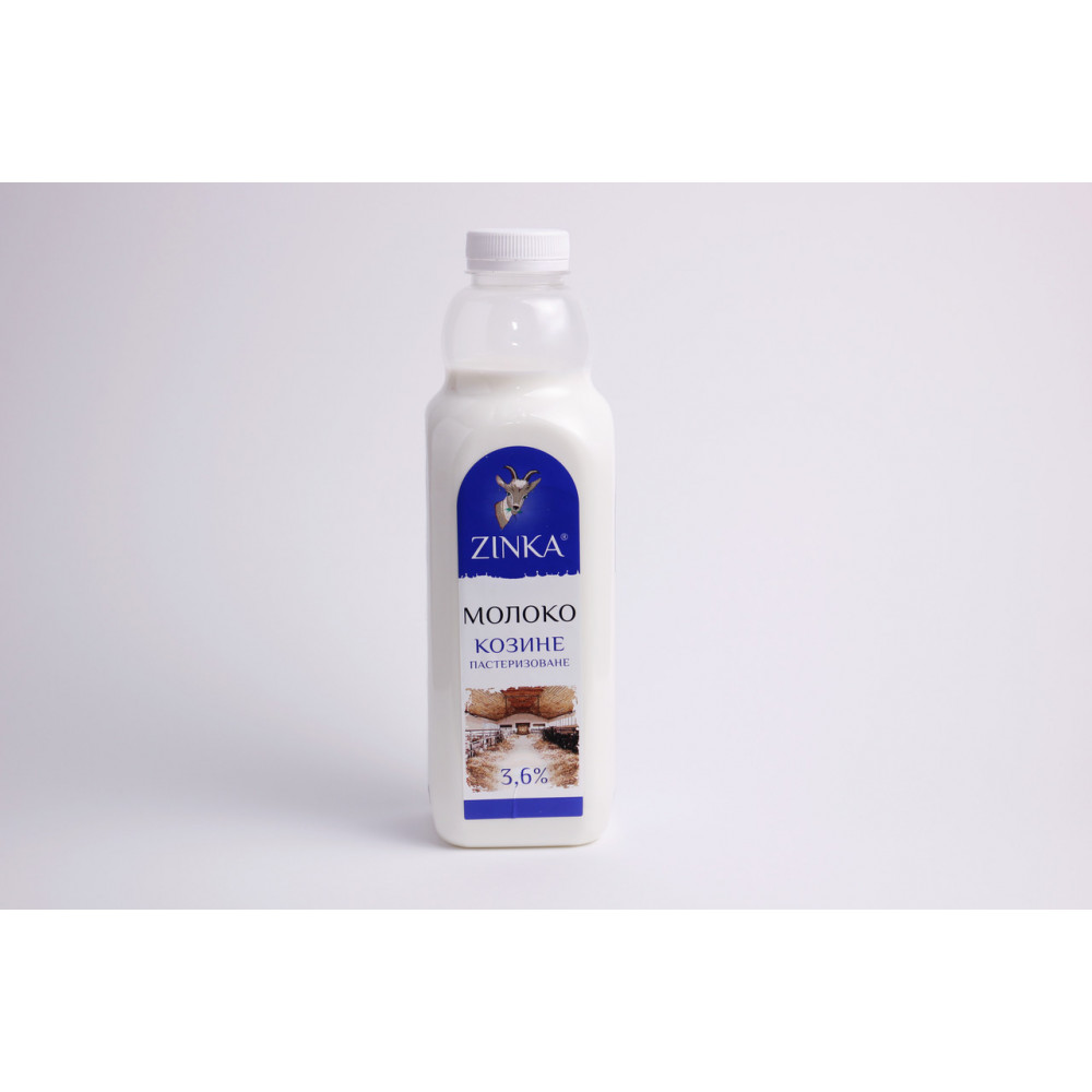 Zinka Молоко фасоване пастеризоване 3,6% жиру /930г./