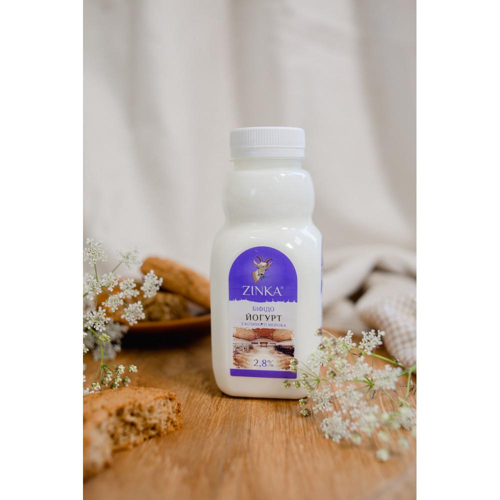 Zinka Біфідойогурт з козиного молока  2,8% жиру /300г /